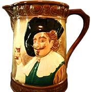 "English ""Cavalier"" Large Pitcher by Falcon Ware"