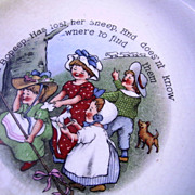 Charming Little Bo Peep Baby Dish