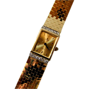 Beautiful Gold Cyma Ladies Wrist Watch