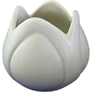 White Van Briggle Tulip Vase