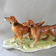 Irish Setter Porcelain Figurine