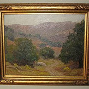 Early 20th Century Californian Landscape by Gordon Knowles Carter