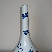 Chinese Porcelain Blue and White Bottle Vase