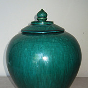 Chinese Green-Glazed Pottery Jar