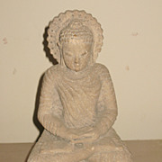 Chinese Small Carved Stone Buddha