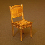 Antique Ormolu Art Deco Chair - By Erhard & Sohne