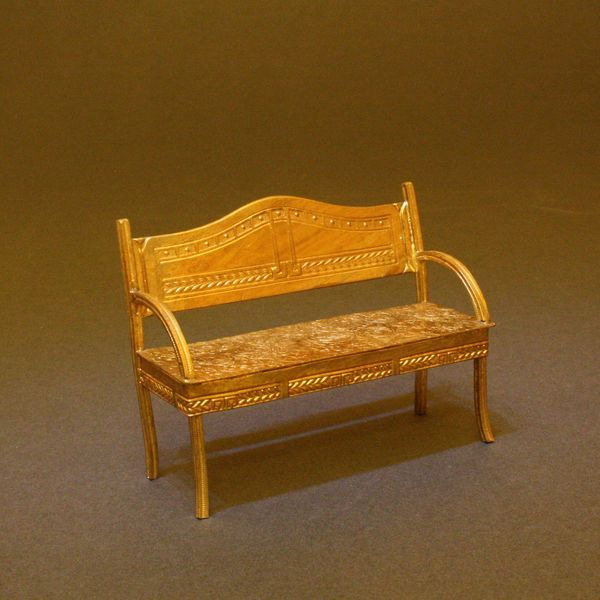 Antique Ormolu Art Deco Sofa - By Erhard & Sohne