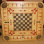Game Board, Vintage Archarena Double-Sided, 1907