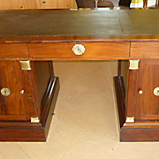 Austrian Empire Partners Desk, Brazilian Rosewood