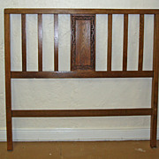 Mission Style Headboard and Footboard