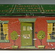 Sharp's Home Made Super-Kreem Toffee Tin Box, Ca 1920s