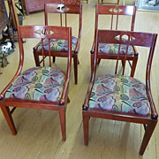 REDUCED Set of Four Mission Style Chairs