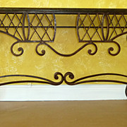 Granite Iron Base Console