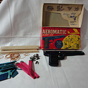 Aeromatic glider gun in orig box metal gun