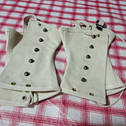 1950'S Boy Scout white Leggins
