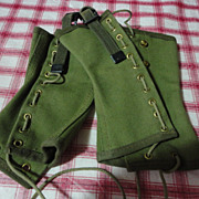 Original Pair green Boy Scout leggins