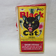 Vintage Black Cat Firecrackers