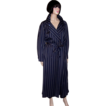 Nancy Heller-Navy & Gray Trench Coat & Matching Pants Ensemble