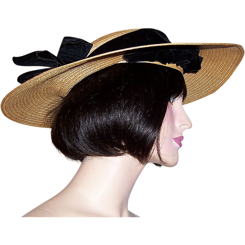 1930s Hats Women http://www.rubylane.com/item/715376-VH-129/1930s-Natural-Straw-Cartwheel-Hat