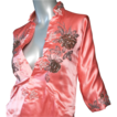 c 1950 Custom Made Silk Satin Chinese Jacket