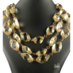 Miriam Haskell Pale Yellow Crystal Necklace *ca1950's