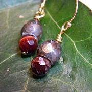 "Handcrafted  Earrings  ""Acorn-ucopia"""