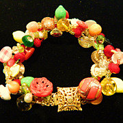 "Carmen Miranda Inspired Bracelet ""Feel The SUNsation"""