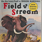 SOLD Field and Stream Magazine December 1938