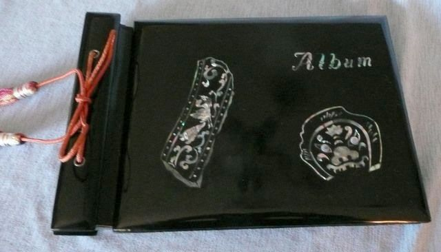 Lacquer and Inlaid Abalone Album
