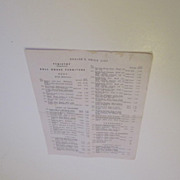Original Tynietoy Dealer's Price List