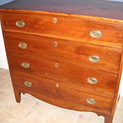 Hepplewhite Cherry Chest Circa 1790-1800
