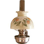 SALE Aladdin Model C Kerosene Lantern w/Bracket and Shades - ca. 1955-63
