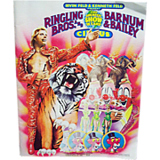 Ringling Bros. and Barnum & Bailey Circus Program 1984