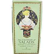 SALE New Calendar of SALADS; Elizabeth O. Hiller