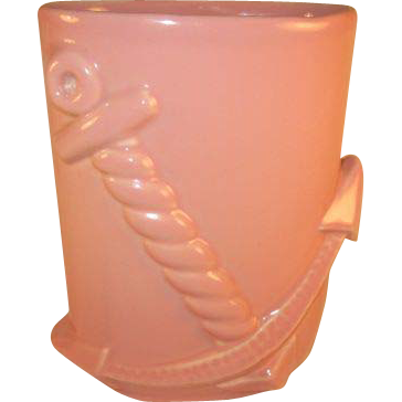 Abingdon U.S.A. Pottery Anchor Vase