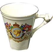 King George and Queen Elizabeth Mug May 1937