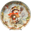 Frosty's Holiday Portrait by David Paris from Franklin Mint