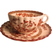 "Spode Copeland ""Indian Tree"" Cup and Saucer"