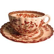 Spode Copeland &quot;Indian Tree&quot; Cup and Saucer