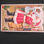 A Merry Christmas Postcard