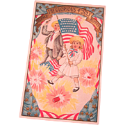 Glorious 4th of July Postcard