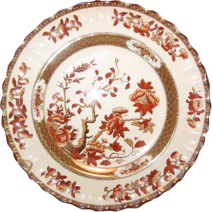 "Spode Copeland ""India Tree""  9"" Salad Plate"