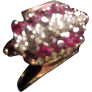 SALE Ruby and Diamond Ring