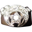 Masonic Ring 14K Gold and Diamonds