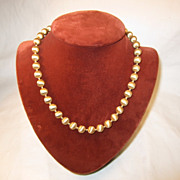 Napier Brushed Goldtone Necklace