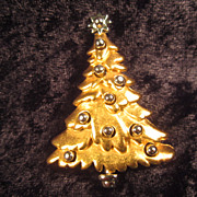 Danecraft Christmas Tree Pin