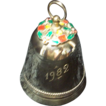 Wallace Silver Plated 1982 Christmas Bell