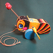 Fisher Price Busy Bee Pull Toy