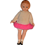 Vintage Wee Patsy Doll Composition Effanbee Adorable