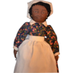Vintage Cloth PRISSY Doll Gone With The Wind Signed Black